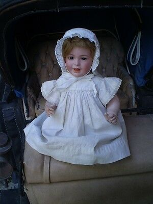 1920 : French Character Doll. Sfbj. Mold 236 Size 6 . 37 Cm + Corset