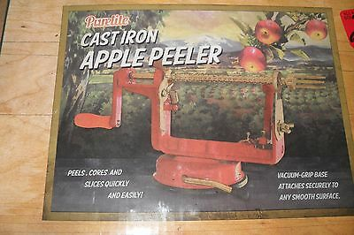 Purelite Cast Iron Apple Peeler | Slices, Cores and Peels Apples with Ease  EUC