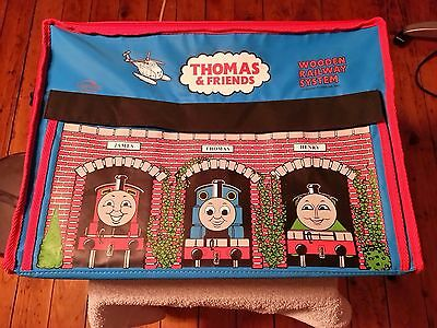 Learning Curve Thomas & Friends Wooden Railway System PVC Carry Case 2001 Nice !