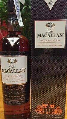 Whisky MACALLAN Director's Edition Series 1700