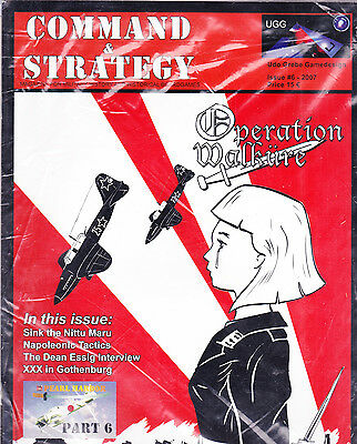 Command & Strategy #6 Magazine w/Game Unpunched UGG Decision Games GMT SPI