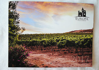 Europa Village Temecula California Wine Country 2017 Calendar