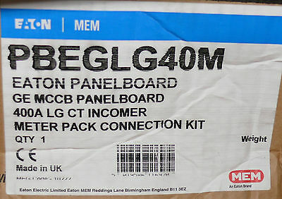 PBEGLG40M EPBKN2403M  MEM Eaton 400A Incoming CT Meter Connection Kit