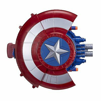 Marvel Civil War Blaster Reveal Shield