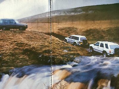 MITSUBISHI SHOGUN 1992 MODEL vs RIVALS # 1992 AUTOMOTIVE ARTICLE # 6 PAGES
