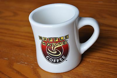 Waffle House Restaurant Ware Coffee Mug Tuxton Ceramic Advertising Collectible