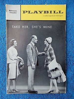 Take Her, She's Mine - Biltmore Theatre Playbill - July 16th, 1962 - Art Carney