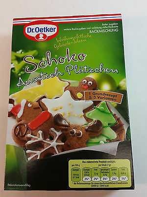 Dr.Oetker - Schoko - CAKE - PLÄTZCHEN - MADE IN GERMANY