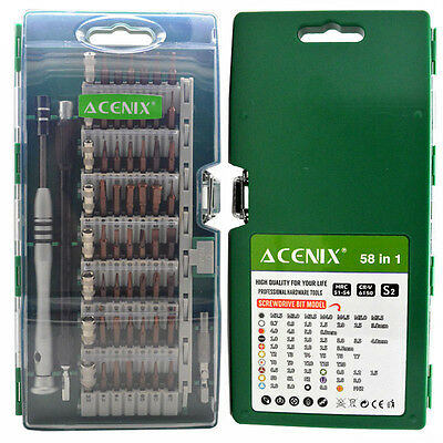 ACENIX® 58 in 1 [Updated S2 Version ] Precision Screwdriver Set For SmartPhones