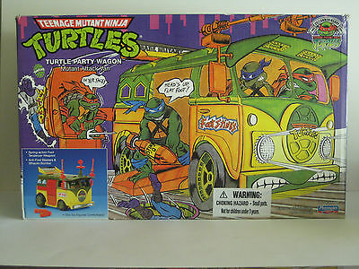 TMNT Teenage Mutant Ninja Turtles Tortugas ninja - Party Wagon Furgoneta Nuevo
