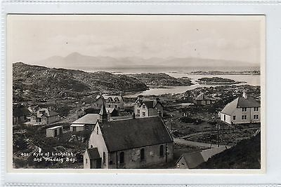 KYLE OF LOCHALSH AND PLADAIG BAY: Ross-shire postcard (C23757)