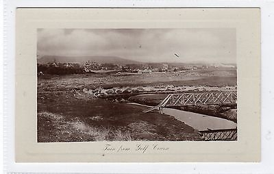 TAIN FROM GOLF COURSE: Ross-shire postcard (C23759)