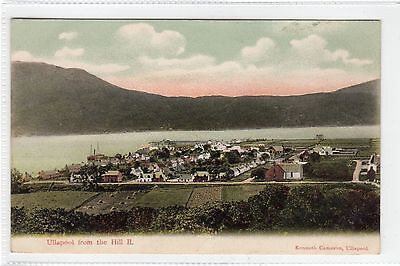 ULLAPOOL FROM THE HILL: Ross-shire postcard (C23760)