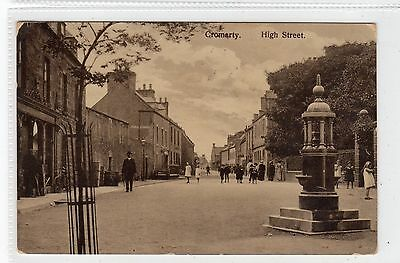 HIGH STREET, CROMARTY: Ross-shire postcard (C23764)