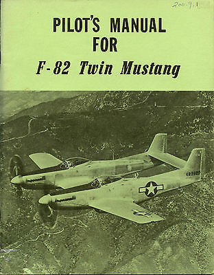 Pilot's Manual For F-82 Twin Mustang