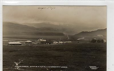 ACHNASHEEN, STATION HOTEL AND LEDGOWAN LODGE: Ross-shire postcard (C23779)