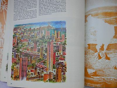 The Illustrated Atlas Of Hawaii--An Island Heritage Book--Second Edition--1980