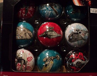 New Star Wars Hallmark Christmas Tree Ornaments 2 BOXES (18 ORNAMENTS)New in Box