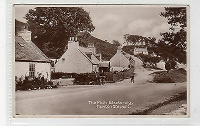 THE PATH, BLACKCRAIG, NEWTON STEWART: Wigtownshire postcard (C23167)