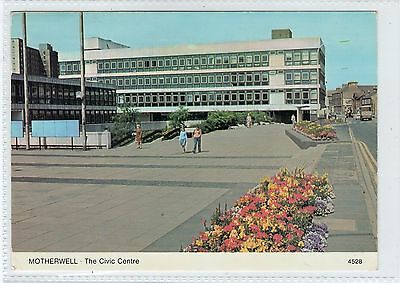 THE CIVIC CENTRE, MOTHERWELL: Lanarkshire postcard (C23210)