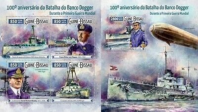 GB15517ab GUINEA-BISSAU 2015 First World War WWI Guerre part SET MNH
