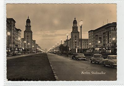 STALINALLEE, BERLIN: Germany postcard (C23234)
