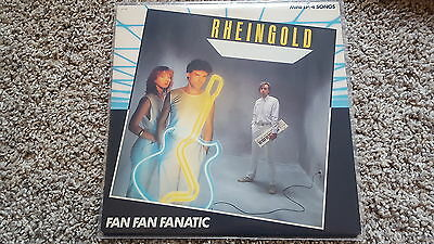Rheingold - Fan Fan Fanatic/Triad dimensions US 12'' Vinyl NDW SUNG IN ENGLISH