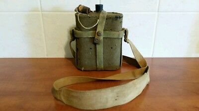 WW1 WW2 Commonwealth Issue Water Bottle with 1908 Pattern Full Web Harness