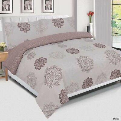 Double Bed Size Baby Heart Egyptian Cotton Duvet Cover Set, Quilt Bedding Set