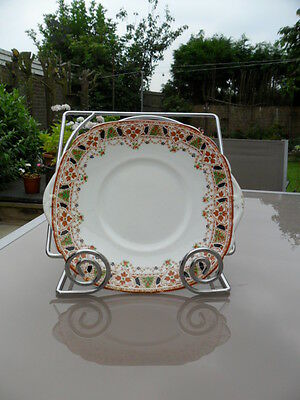 Vintage Rosina Queens China  Cake Plate In Vgc
