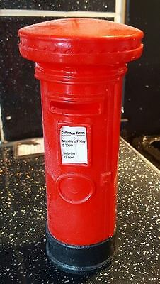 Latex Craft Mould To Make British Post Box Ornament or Candle