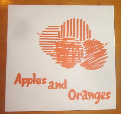 Pink Floyd 2016 Early Years Reproduction Replica Single Apples and Oranges