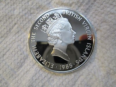 1985 British Virgin Islands $20 Silver Proofs {925%} Solid Sterling>>Gorgeous!!