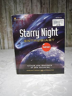 Starry Night Enthusiast 5.0 New Software Astrology Star Gazing Astronomy
