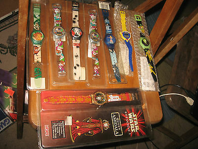 Star Wars Queen Amidala character watch with lot