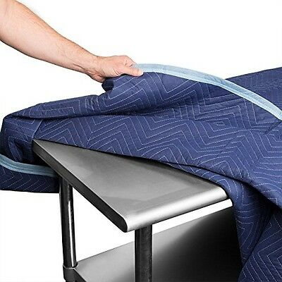 12 Deluxe Pro Moving Blankets Heavy Duty 40-45lbs/Dozen Weight 72x80 Sure Max Pk
