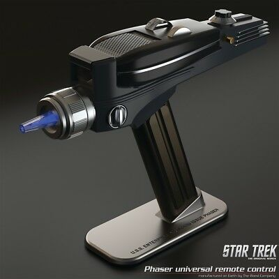 STAR TREK : PHASER Universal Remote Control from The Wand Company