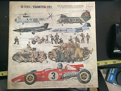 1972 MRC Tamiya Encyclopedia-Catalog of Percision Plastic Model Kits