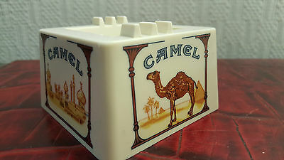 "Cendrier Publicitaire Camel Mélaminé Made in Italy Vintage. (1980') "" Tabac """