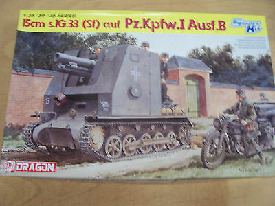 Dragon 6259 - 15cm s.IG (Sf) on Pz.Kpfw.I - 1:35 NIP 50