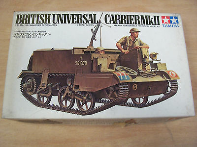 Tamiya MM189 - British Universal Carrier Mk II WW2 - 1:35 NIP 62