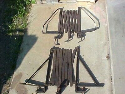VINTAGE 1920's EXPANDING RUNNING BOARD LUGGAGE RACK DODGE PLYMOUTH