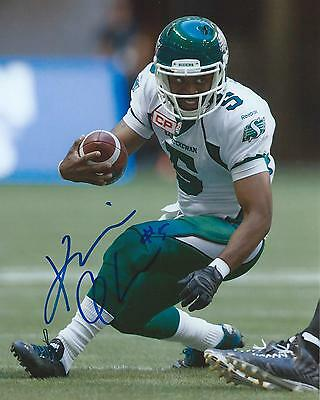 Kevin Glenn Signed 8x10 Photo Saskatchewan Roughriders Autographed COA