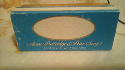 Avons Partridge And Pear Soaps