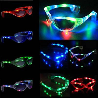 Colorful Party Glow Glasses Sunglasses Light Up LED Flashing
