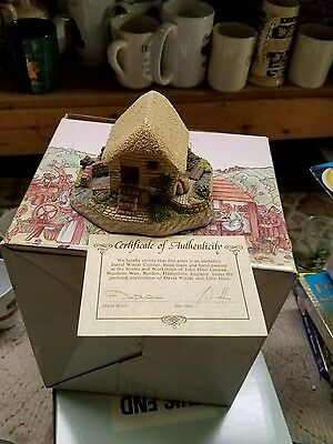 David Winter Cottages - Home Guard - Collector's Guild #5 - Spring 1989