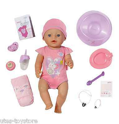 Orig. Zapf Creation     Baby Born interactive Girl Puppe     43 cm