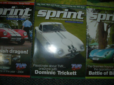 tvr sprint magazine 5 issues sep 2002 nov dec 2004 jan feb 2005 picclick uk. Black Bedroom Furniture Sets. Home Design Ideas