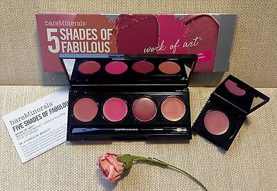 bareMinerals 5 SHADES OF FABULOUS Marvelous Moxie Lipstick Palette WORK OF ART!!