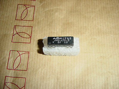 POTTER&BRUMFIELD JWD-172-3 REED RELAY 12VDC 1PST 1NO,NC Contact""